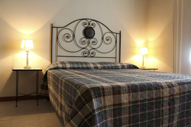 Double bedroom at Agriturismo Frascole