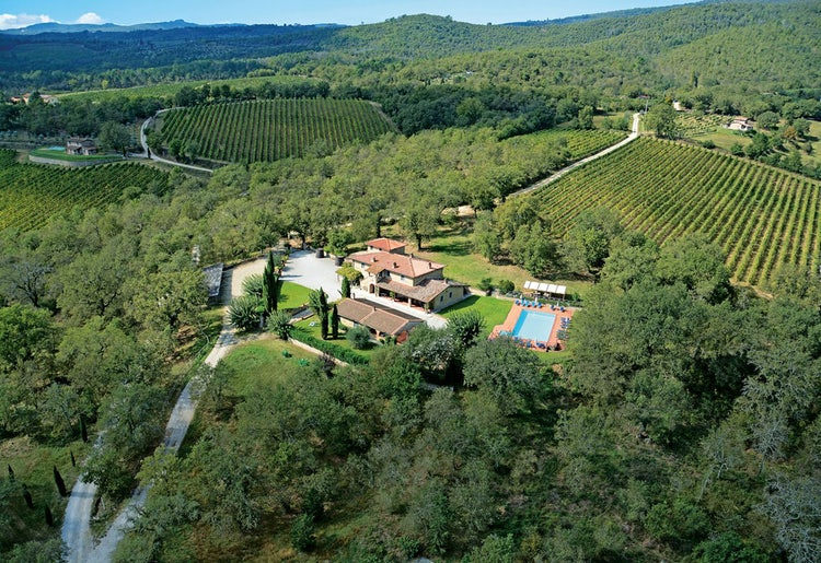 Ariel view of Agriturismo Incrociata