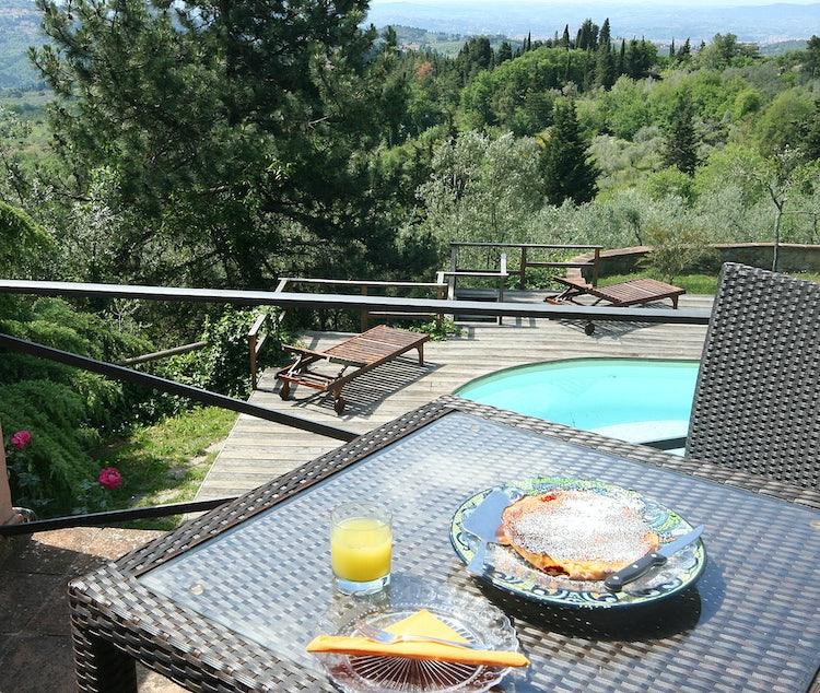 B&B La Paggeria: Just outside of Florence