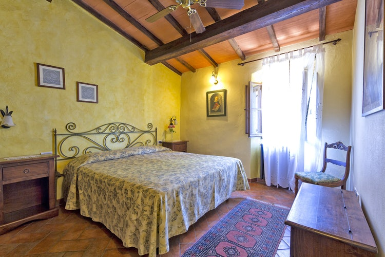 Double bedroom at Podere Casanova
