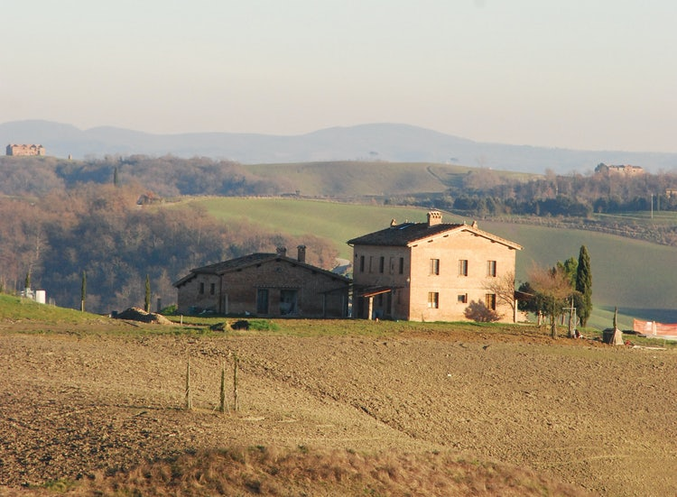 San Giovanni in Poggio Casa Colonica as Vacation Apartments in Tuscany