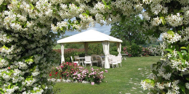 Taverna di Bibbiano is a romantic setting for a wedding & honeymoon