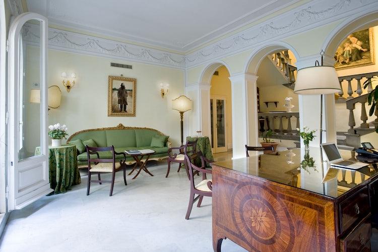 Reception Hall at Villa Antea