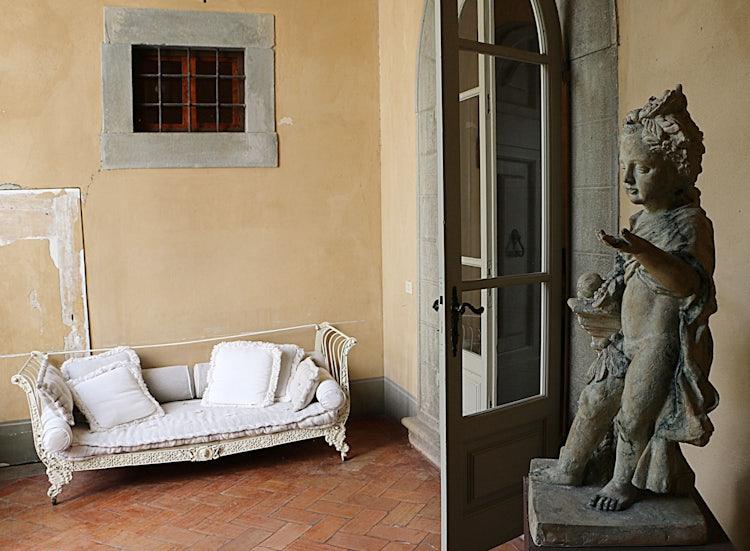 Loggia at B&B Villa Dianella near Florence Italy