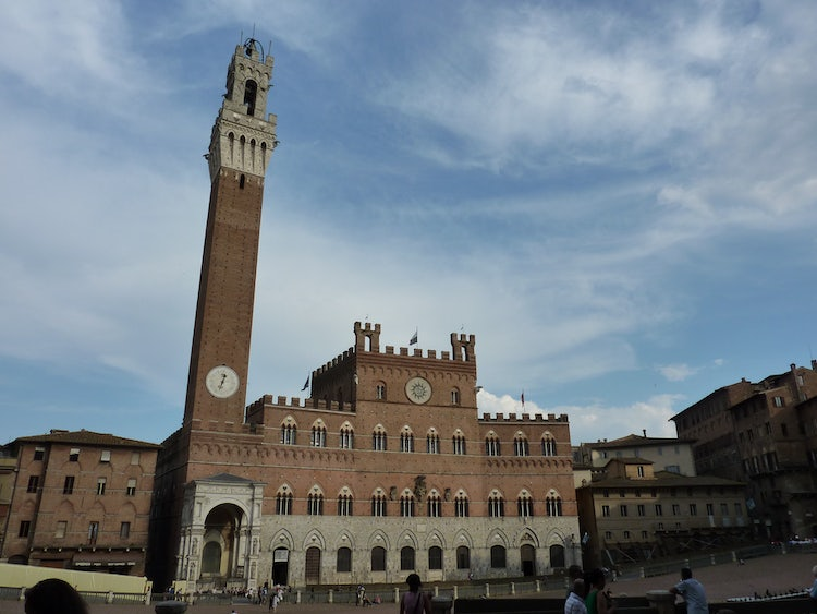Climb the Tower of Mangia in SIena