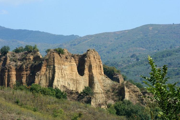 Le Balze just outside of Loro Ciuffenna