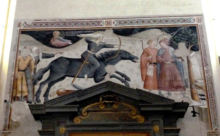 Fresco Triumph of Death