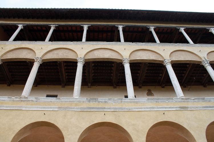 Palazzo Piccolomini in Pienza in Val d'Orcia in Tuscany